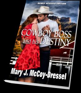 Mary J McCoy-Dressel, western romance, short snippet Saturday