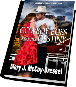 Mary J McCoy-Dressel, western romance, short snippet Saturday