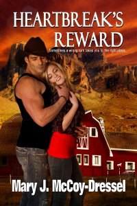 Mary J McCoy-Dressel, western romance, heartbreak's reward