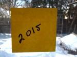 2015 handwritten