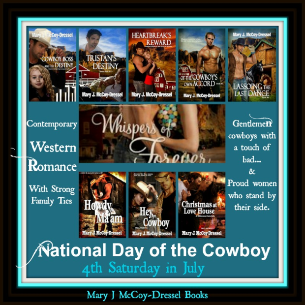 mary j mccoy dressel, western romance
