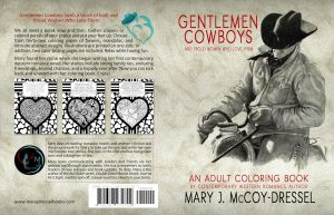 Mary J McCoy-Dressel, Western Romance, Adult Coloring Book