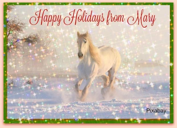 Happy Holidays, Mary J McCoy-Dressel, Western Romance