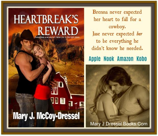 Heartbreak's Reward Book 2 Double Dutch Ranch Series, Mary J McCoy Dressel