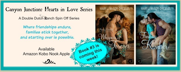 Mary J McCoy-Dressel, Western Romance, Cover Reveal Hooked by Sundown, Blog Post