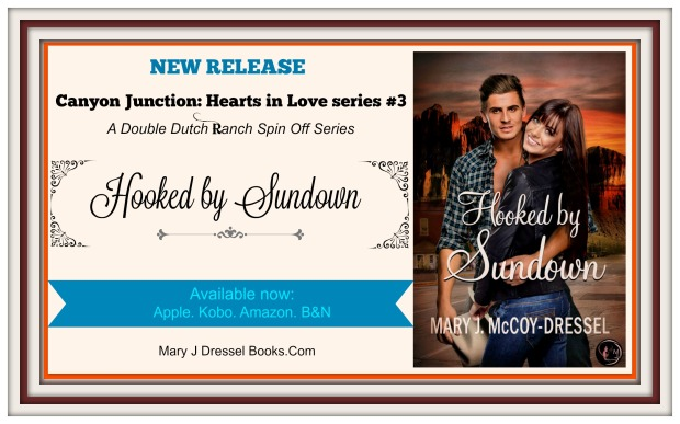 Mary J McCoy-Dressel, western romance, Blog Header
