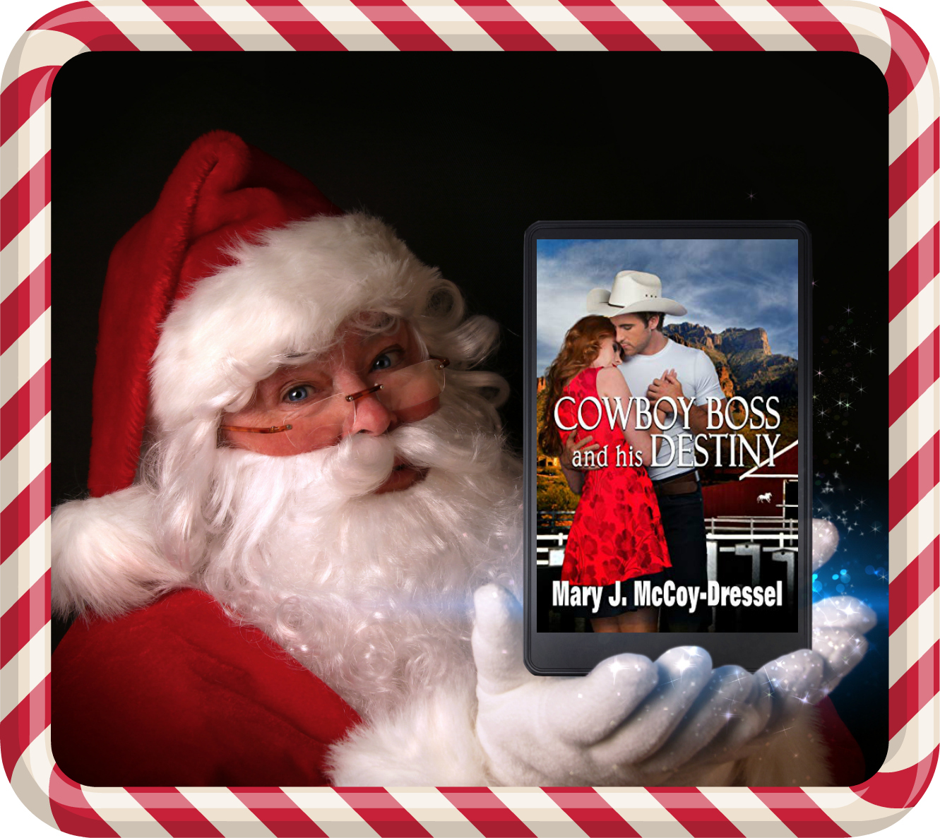 Mary J McCoy-Dressel, Double Dutch Ranch Series: Love at First Sight, Christmas, Holiday, Blog sidebar image