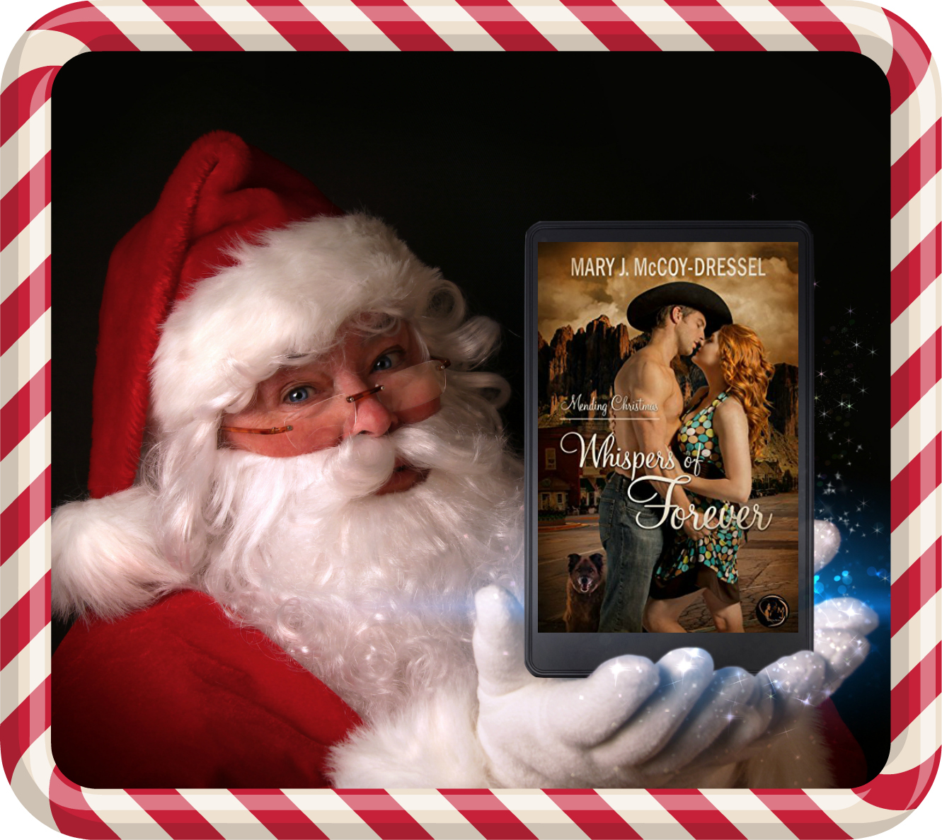 Whispers of Forever, Mary J McCoy-Dressel, Christmas, Holiday, Kindle books, Blog Side Bar post