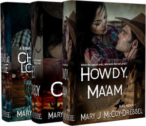 Mary J McCoy-Dressel Books, western romance author. New covers for boxed set website and retailers.
