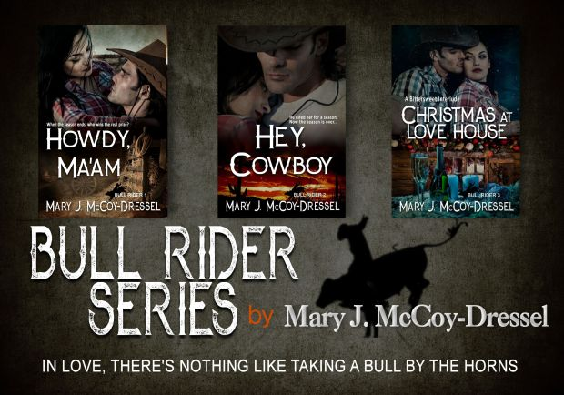 Mary J McCoy-Dressel books, western romance author. Image for website and retailers.