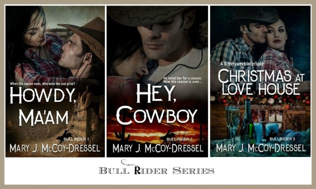 Mary J McCoy-Dressel, western romance author website page for the series