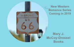 Mary J McCoy-Dressel, Website WIP Page Image, Route 66 from Dreamstime. com