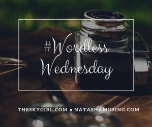 #WordlessWednesday blog post banner picture, blog post