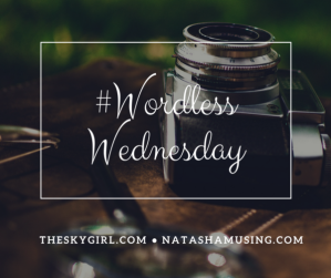 #WordlessWednesday blog post banner picture, blog post