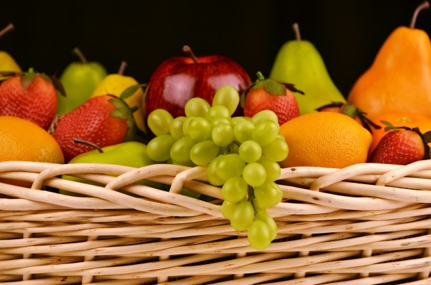 fresh fruit in wicker basket, Mary J McCoy-Dressel, western romance, image used for excerpt on website, featured image,
