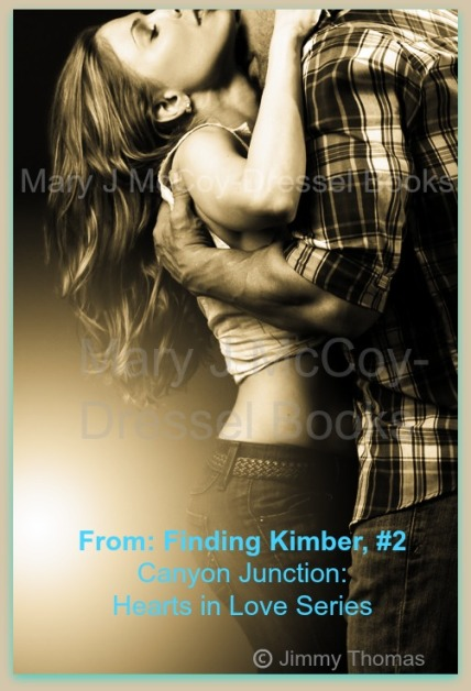 couple embracing, black and white, checked shirt on man, woman short top, jeans, Blog post Meet the Heroine Kimber Sinclair