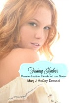 red hair woman, bare shoulder, top lowered on shoulder, Mary J McCoy-Dressel, western romance, Finding Kimber post Meet Our Heroines