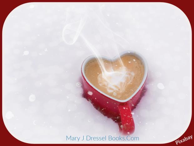 Mary J McCoy-dressel, featured image blog post Secret Santa's Rundown Sleigh, holiday romance novella