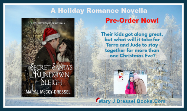 Mary J McCoy-Dressel, single title holiday romance novella, Christmas, Northern Lower Michigan, Holiday romance, Mackinaw City, Mackinac Bridge, Up North