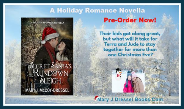 Mary J McCoy-Dressel, single title holiday romance novella, Christmas, Northern Lower Michigan, Holiday romance, Mackinaw City, Mackinac Bridge, Up North