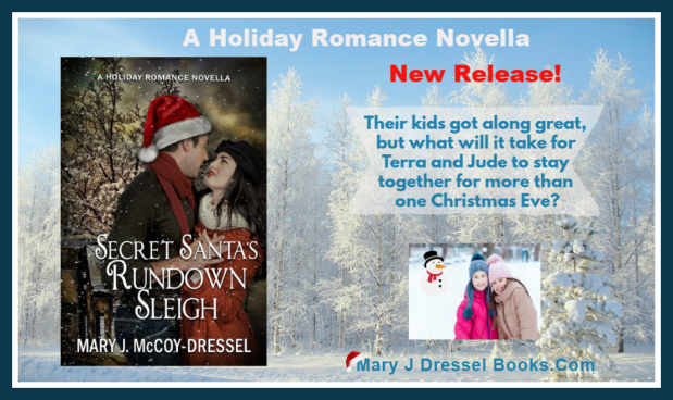 new release, Mary J McCoy-Dressel, a holiday romance novella