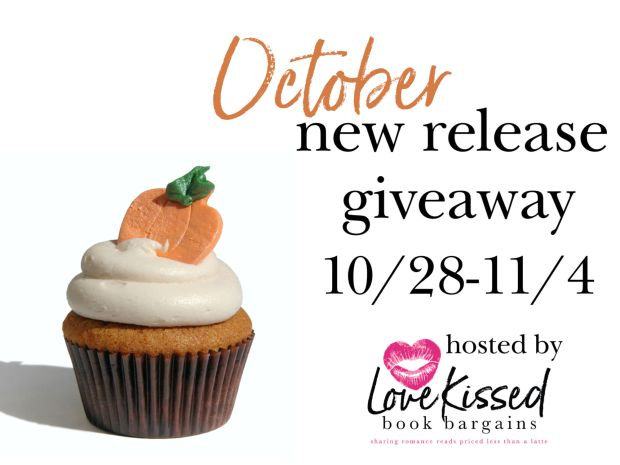 Mary J McCoy-Dressel, Giveaway for October 2019 New Releases via Love Kissed Book Bargains