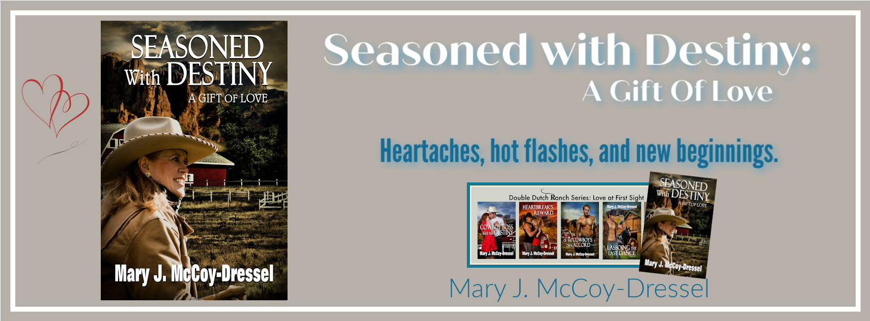 Mary J. McCoy-Dressel ~ Contemporary Romance